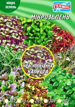 Семена Капусты краснокачанной для микрозелени 10 г
