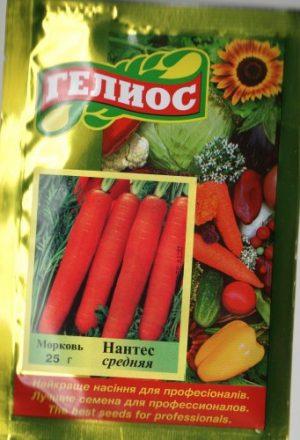 Семена моркови Нантес 25 г
