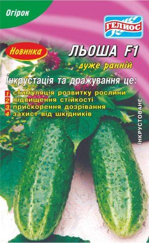 Семена огурцов пчелоопыляемых Леша F1 25 шт. Инк.