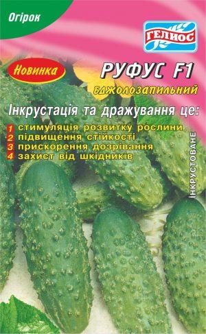 Семена огурцов пчелоопыляемых Руфус F1 25 шт. Инк.