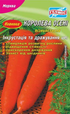 Семена моркови Королева осени 2000 шт. Инк.