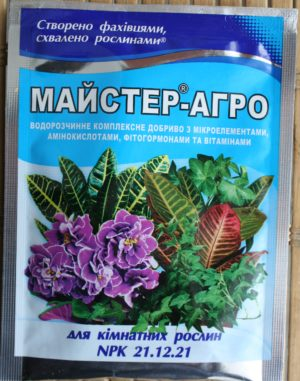Мастер-Агро для комнатных растений 25 г