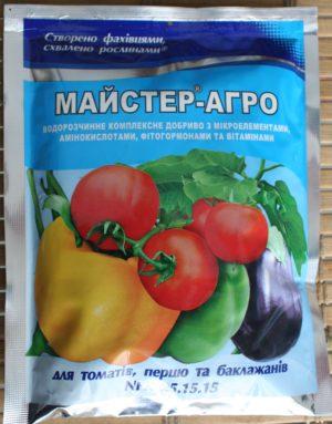 Мастер-Агро для томатов, перцев, баклажанов 100 г