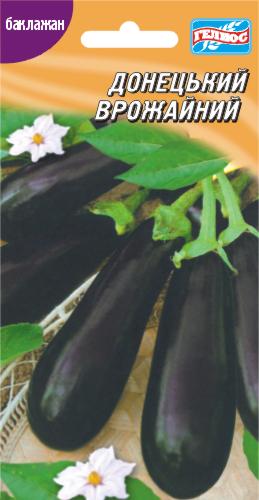 Семена баклажана Донецкий урожайный 60 шт.