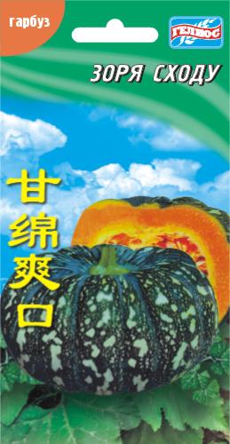 Семена тыквы Зоря Востока 5 шт