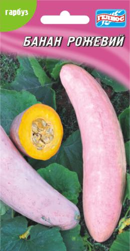 Семена тыквы Банан розовый 10 шт.