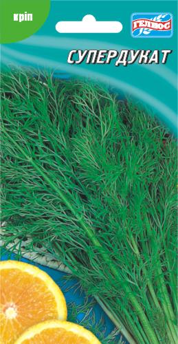 Семена кустового укропа Супердукат 2 г