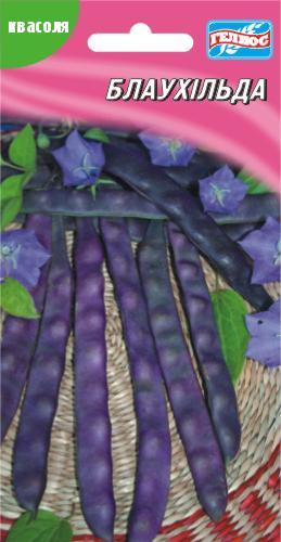 Семена фасоли вьющаяся спаржевая Блаухильда 10 шт.