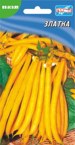 Семена фасоли кустовая спаржевая Златка 20 шт.
